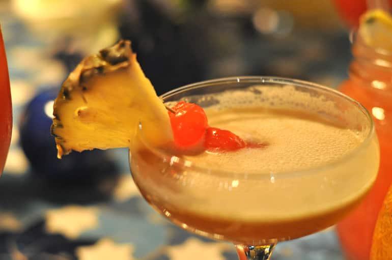 Rev de cuba cocktail