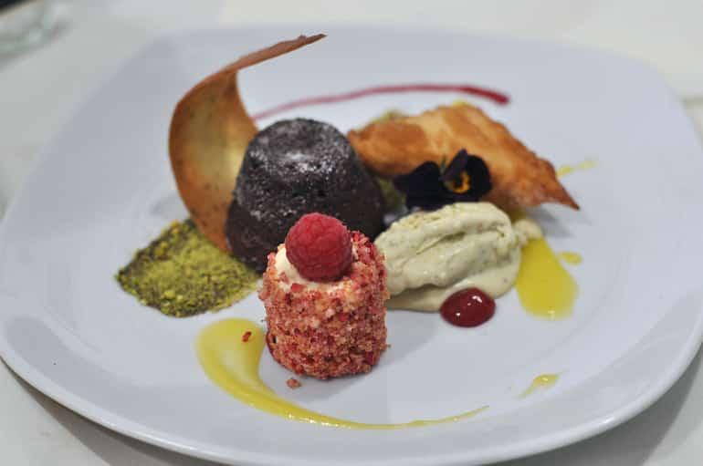 mk food awards dessert raspberry
