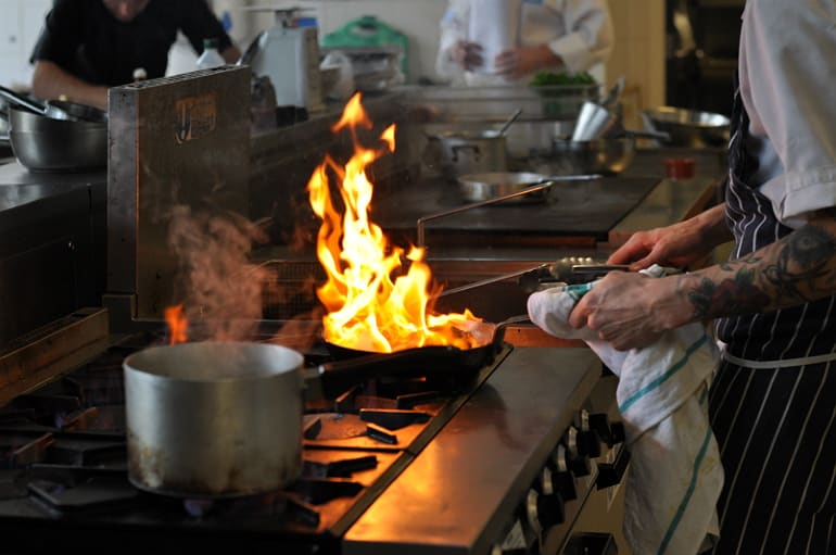 mk food awards fire