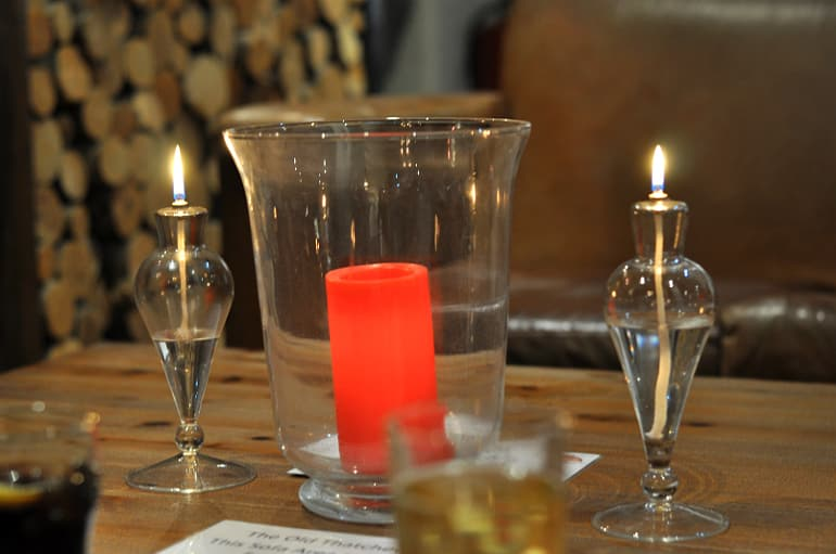 old thatched inn adstock candles