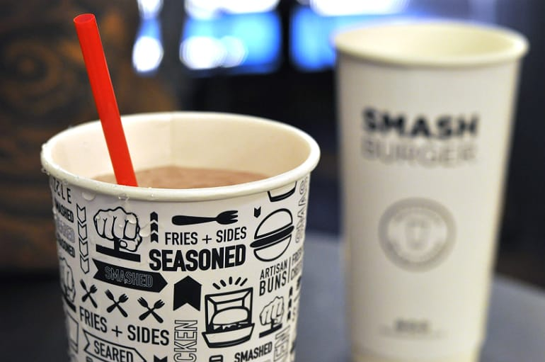 smashburger milton keynes drinks