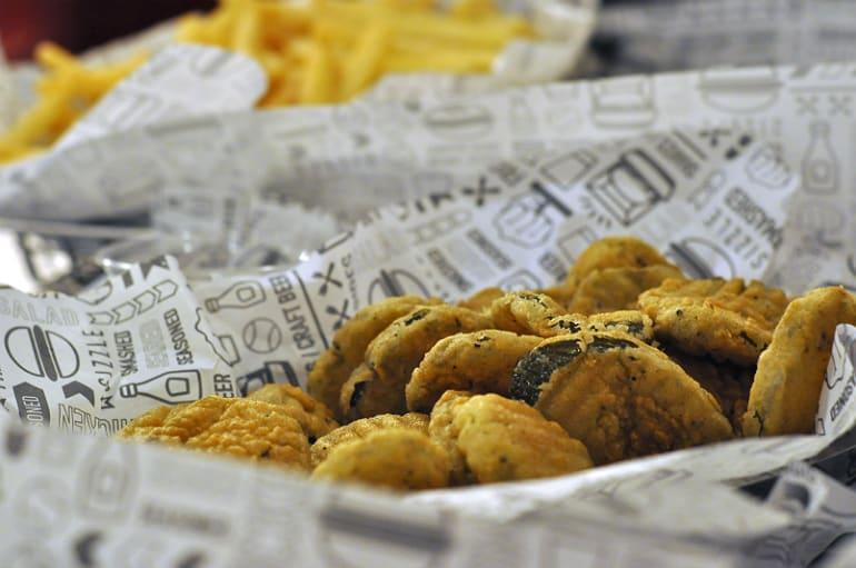 smashburger milton keynes fried pickles