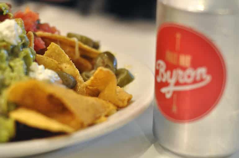 byron burger milton keynes nachos starter