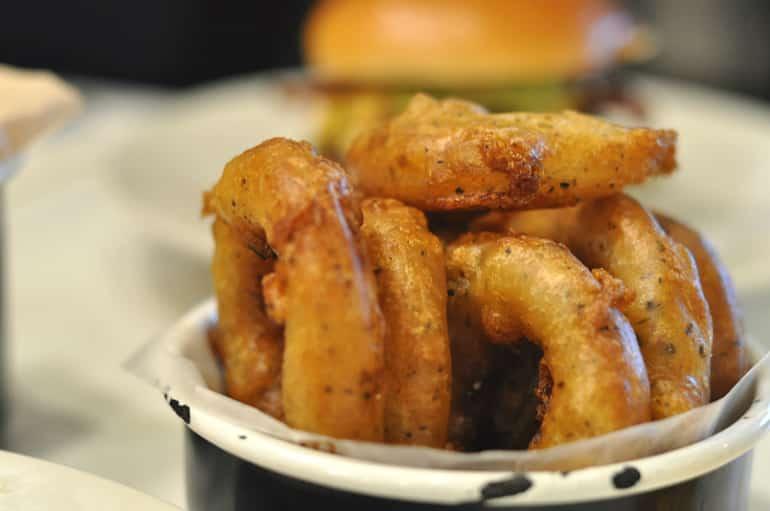byron burger milton keynes onion rings
