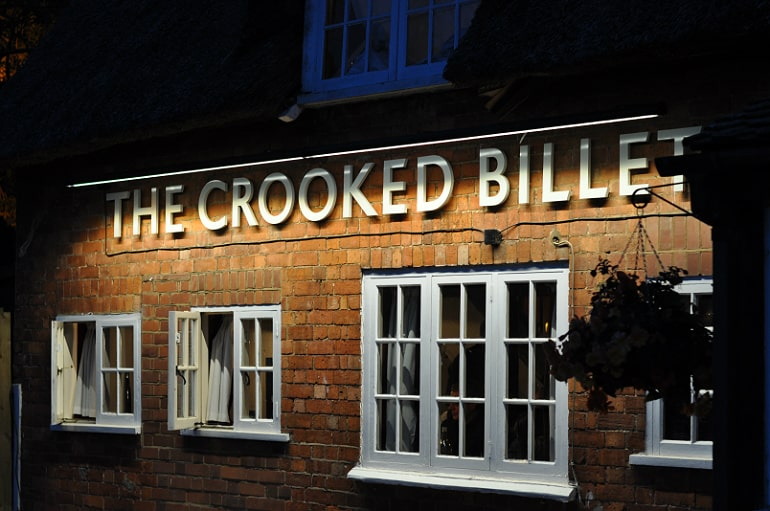 crooked billet milton keynes pub review