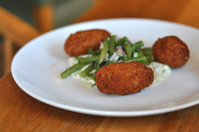 swan salford pub review croquettes