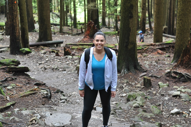 girl-eats-world-grouse-grind-mountain