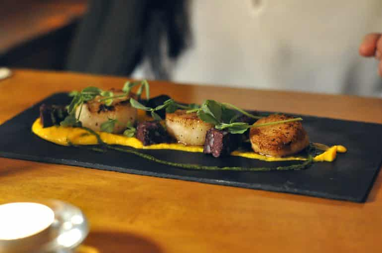 crown-granborough-review-scallops
