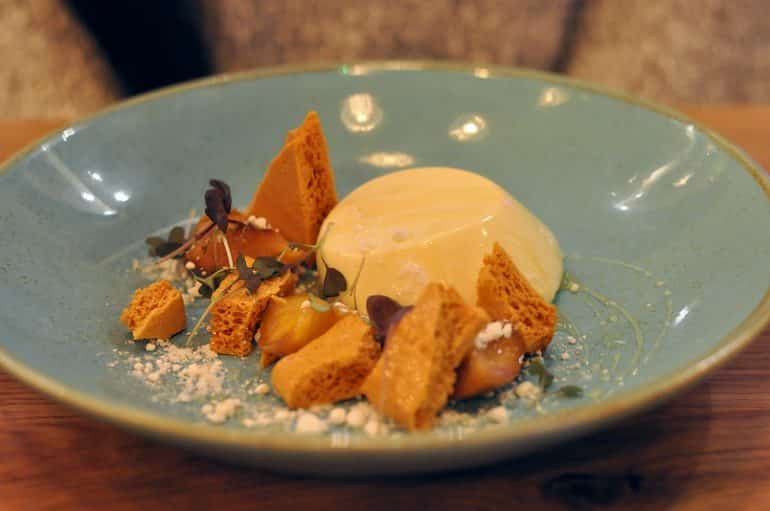 the-anchor-aspley-guise-honeycomb-dessert