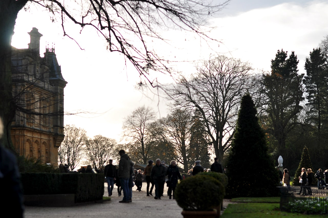 waddesdon-manor-christmas-fair-sunset
