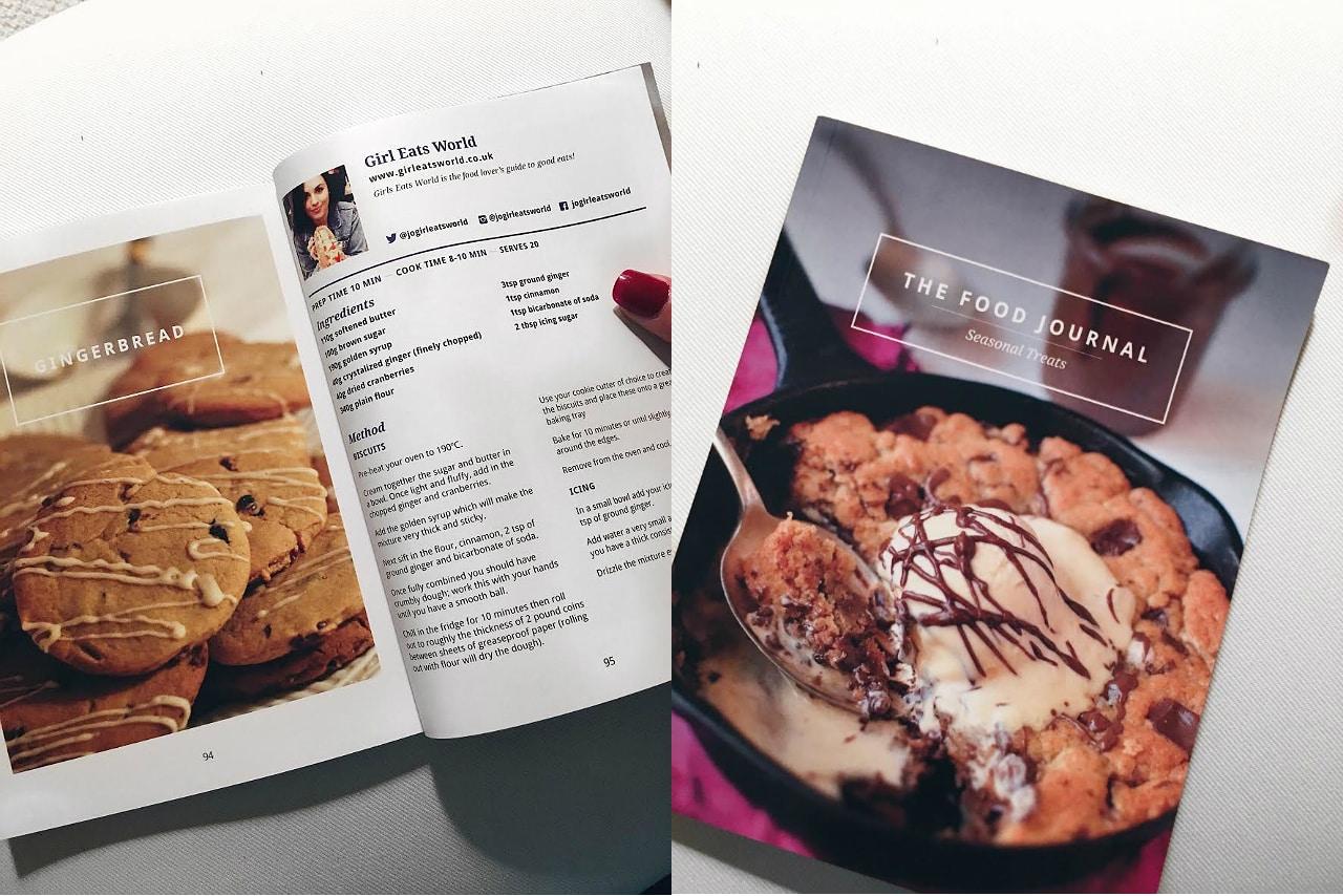 seasonal food journal giveaway