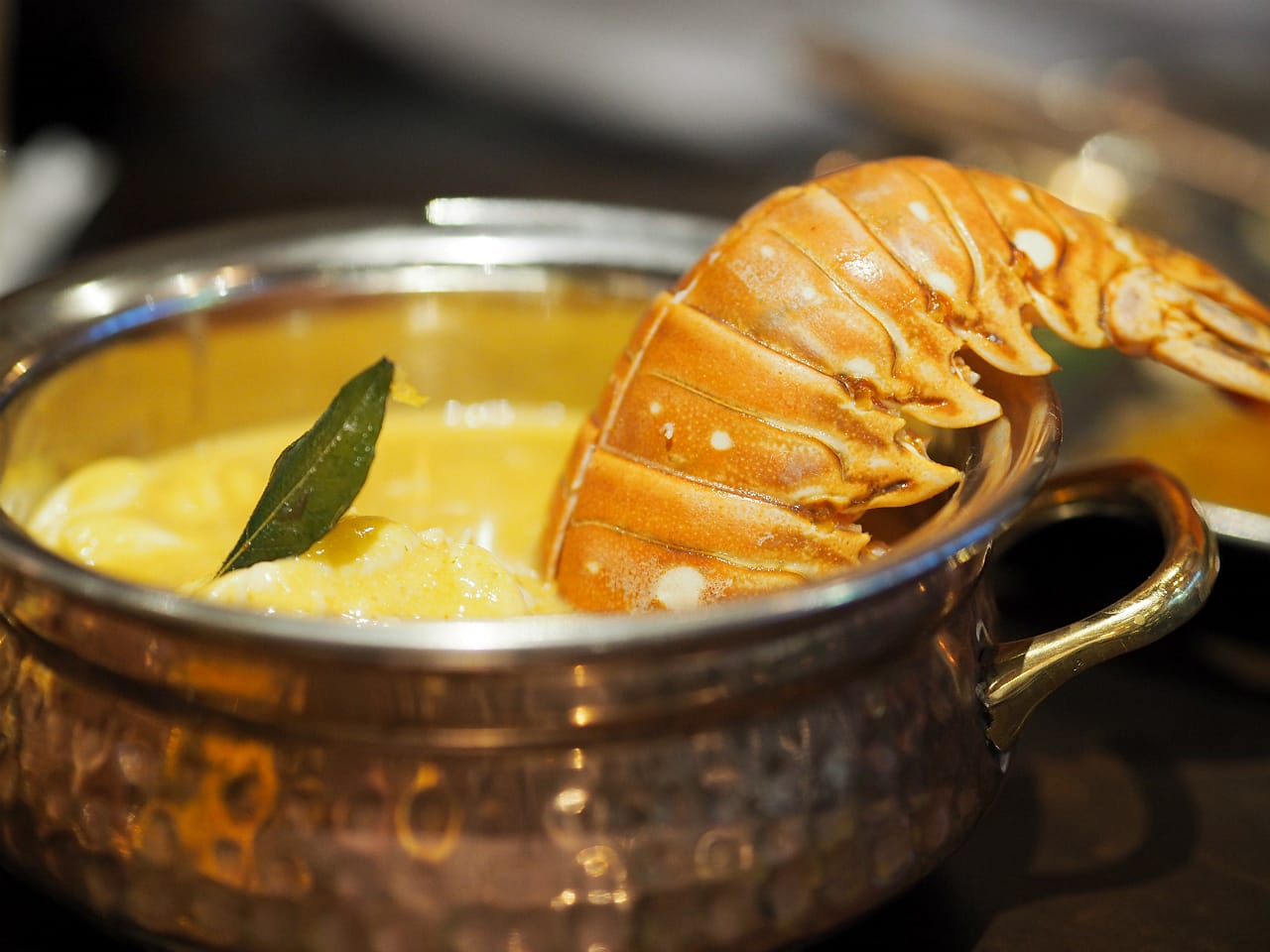 Urban Dhaba lobster tail curry