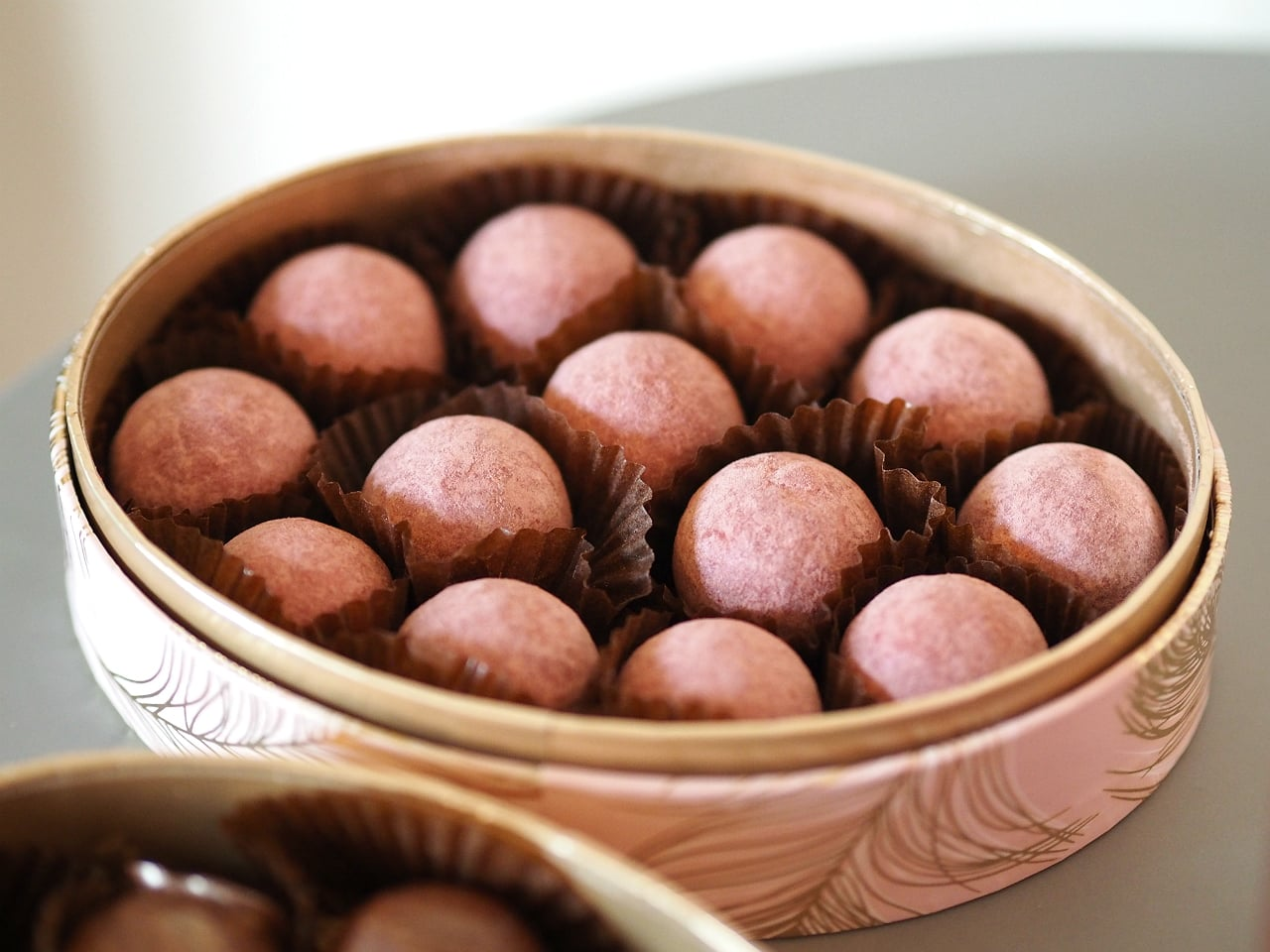 I however really fell for the champagne truffles…