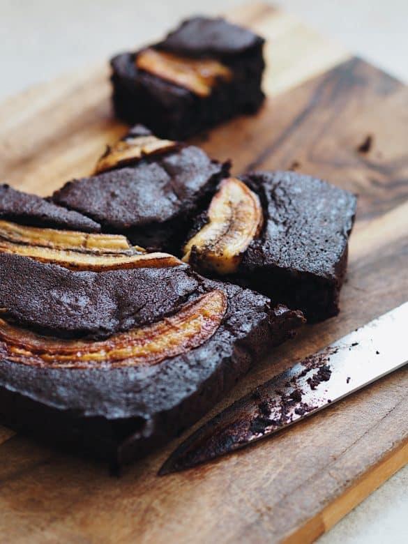 Banana brownies recipe