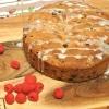 Raspberry & Raisin Cake